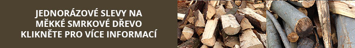 Měkké palivové dřevo - akční nabídka